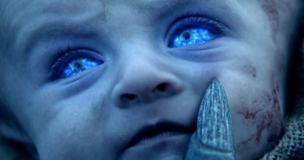 The Game Of Thrones White Walker Babies Theory Hints At A Terrifying Finale Showdown