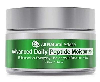 All Natural Advice Peptide Moisturizer