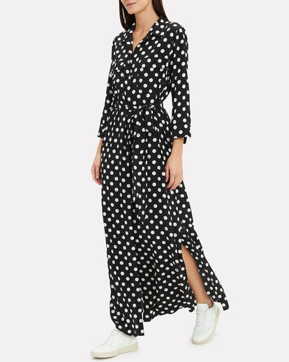 Cameron Polka Dot Shirtdress