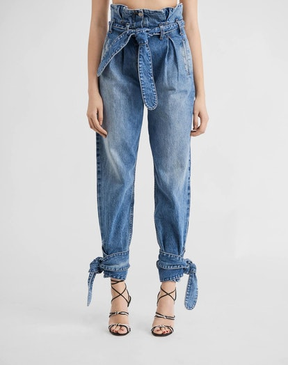 Pleated 80s High Rise Pant