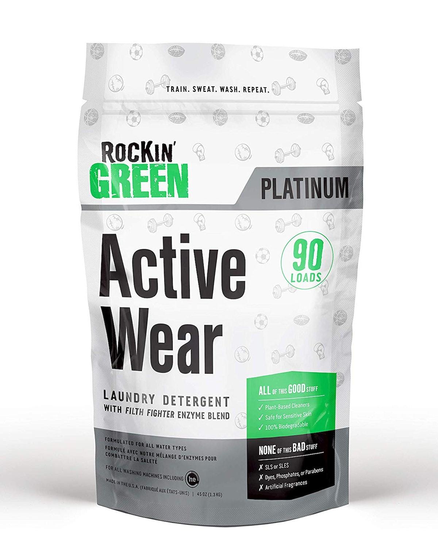 Rockin' Green Active Wear Laundry Detergent