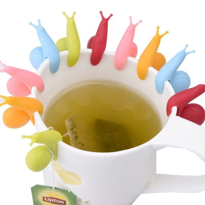 eBoot Snail Tea Bag Holder (10 Pack)