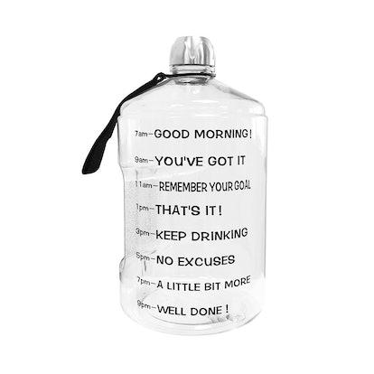 BuildLife Motivational Water Bottle