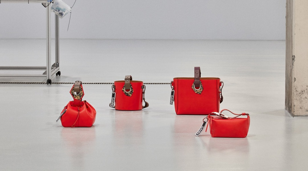 a1fa709f1c2 GANNI's Leather Handbag Collection Debuts With 5 Colorful, Must-Have Styles  For Spring