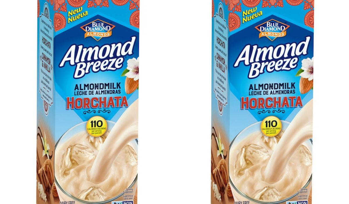 Blue Diamond's Almond Breeze Almondmilk Horchata Is A Sweet Sip In Time For Summer