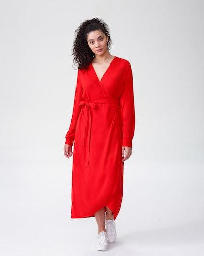 Rivers Wrap Dress