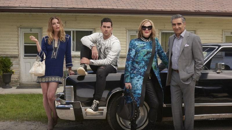 The cast of 'Schitt's Creek.'
