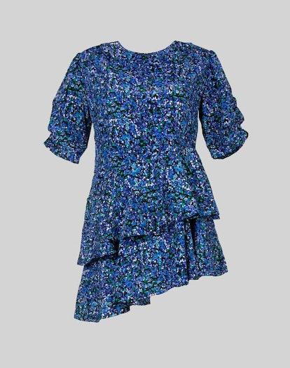 Tiered Mini Dress No. LTMDAX10012