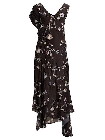 Dana Floral-Print Midi Dress