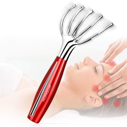 Electric Head And Scalp Massager Tool