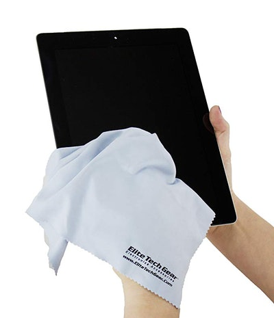 Elite Tech Gear Microfiber Cloths (4 Pack)