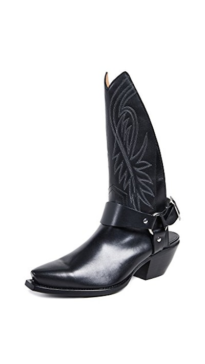 Tall Half Cowboy Boots w/ Harness