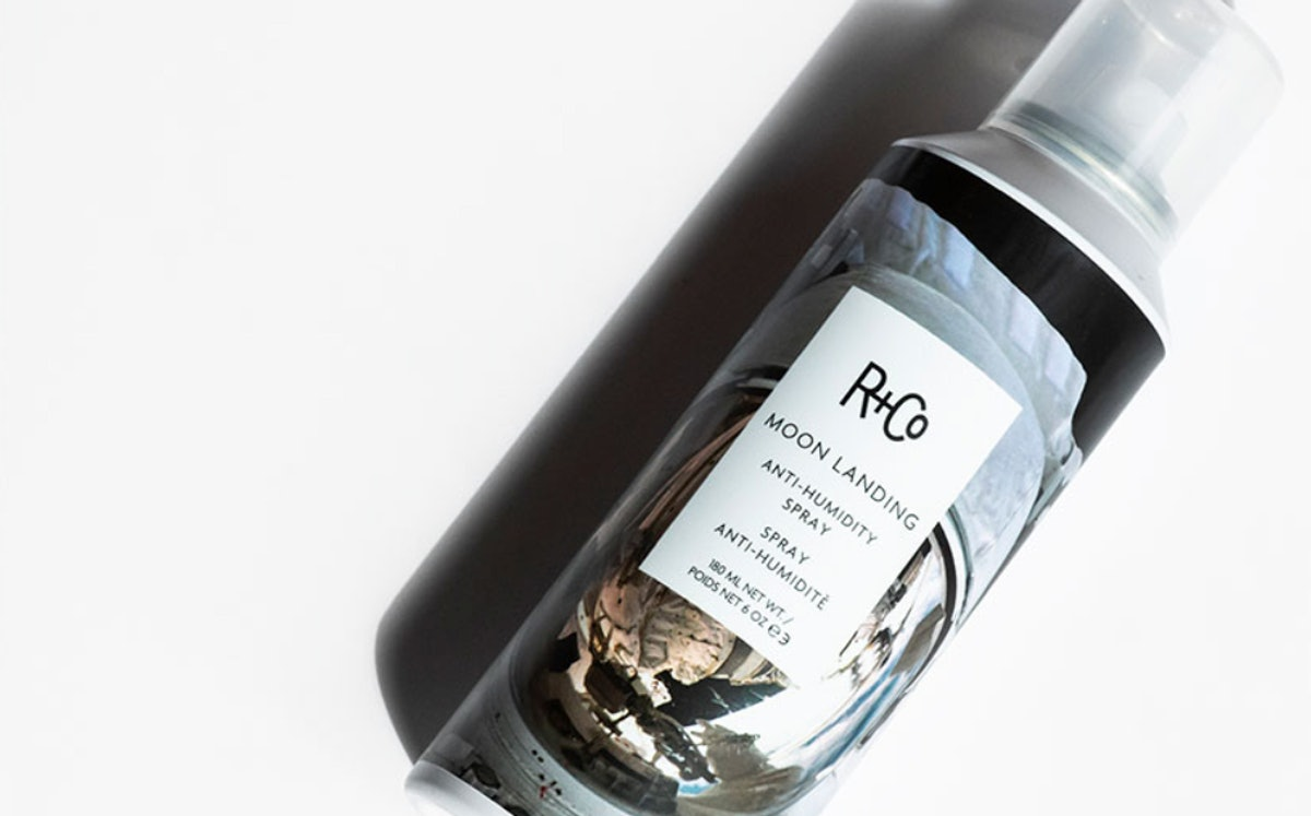 R+Co's MOON LANDING Anti-Humidity Spray Will Keep Your Summer Hair In Tact — Here's How