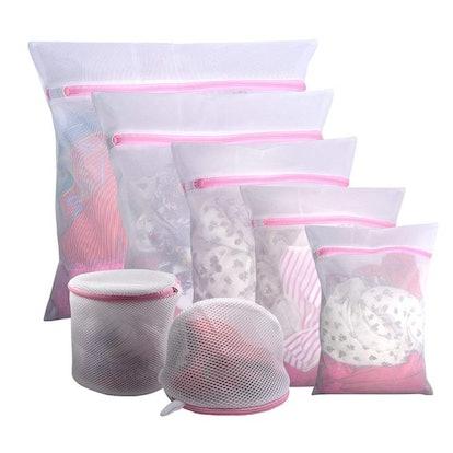 Gogooda Mesh Laundry Bags (7 Pieces)