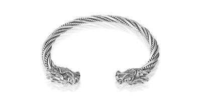 Dragon Bracelet in Sterling Silver