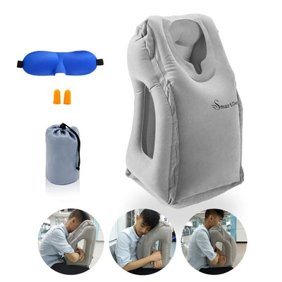 SmartDer Inflatable Travel Pillow