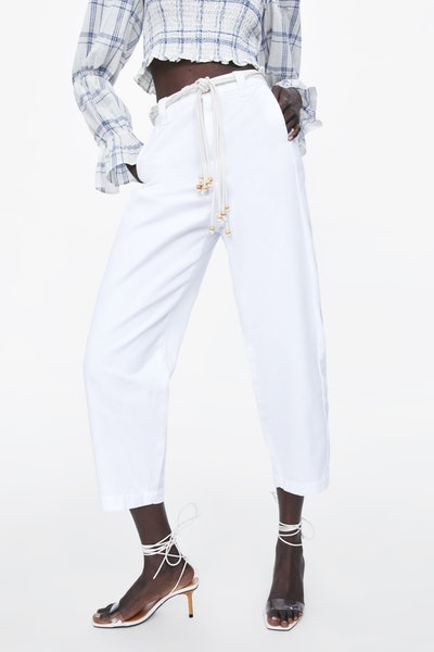 Z1975 Slouchy Belted Jeans