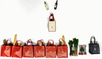 Carrywell Reusable Shopping Bag Organizer