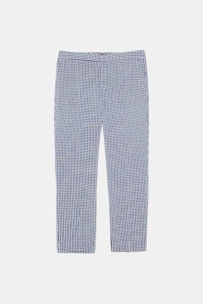 Gingham Pants