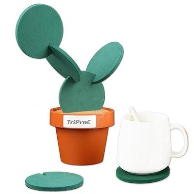 TriProC Cactus Coasters