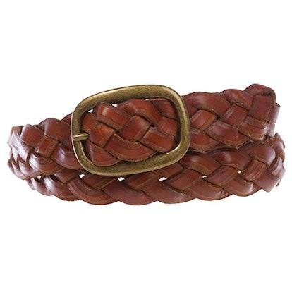 Beltiscool Woven Leather Belt