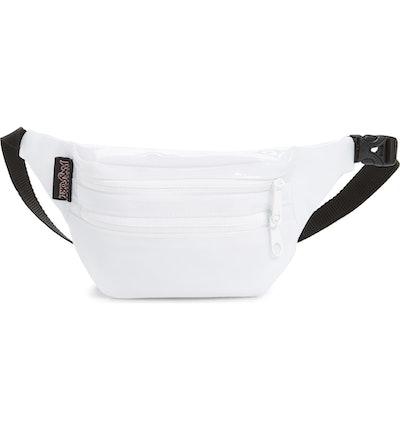 Hippyland Patent Belt Bag In White