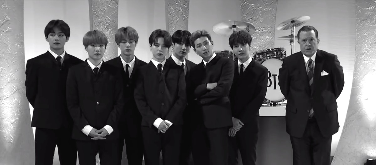 BTS Paid Tribute To The Beatles On 'The Late Show' After Matching Their Billboard Record — VIDEO