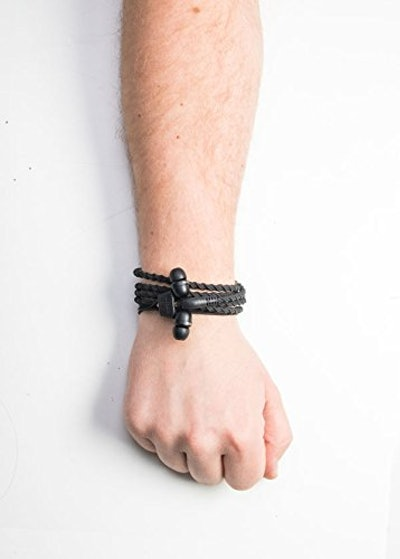 Wraps Wearable Braided Wristband Headphone Earbuds