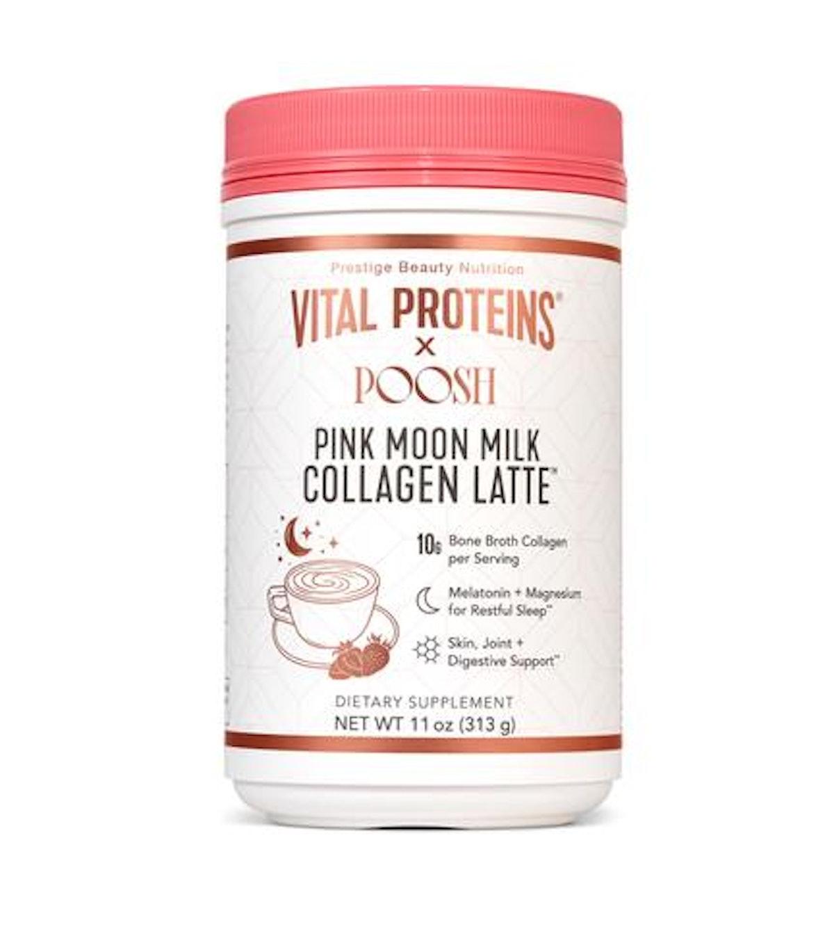 Pink Moon Milk Collagen Latte