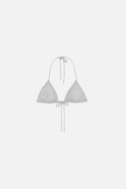 Sparkly Bikini Top