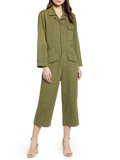 The Richland Cotton & Linen Jumpsuit