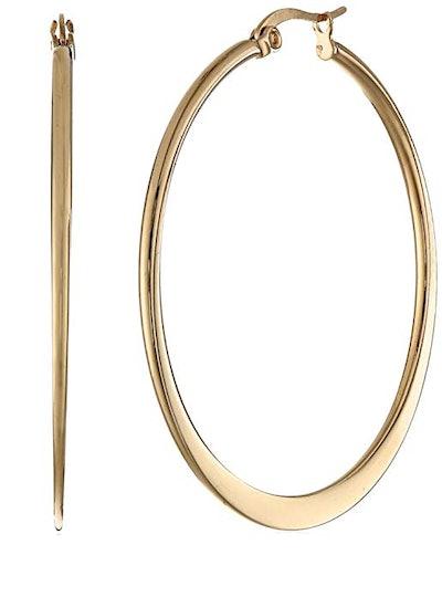 Amazon Essentials Plated Hoop Earrings