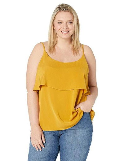 City Chic Women's Apparel Women's Plus Size Solid Strappy Cami