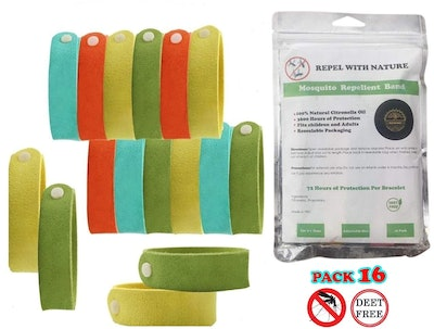 Mosquito Repellent Bracelet Insect 16 Pack