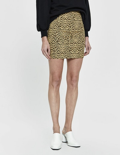 Mindy Cheetah Print Mini Skirt