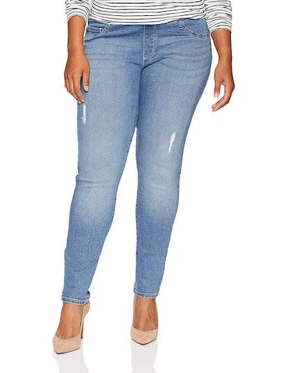 LEE Plus Size Pull-On Skinny Jeans