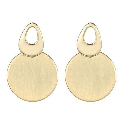 XZP Round Dangle Earrings