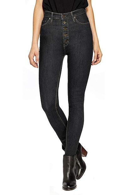 HyBrid & Company High-Waisted Skinny Jeans