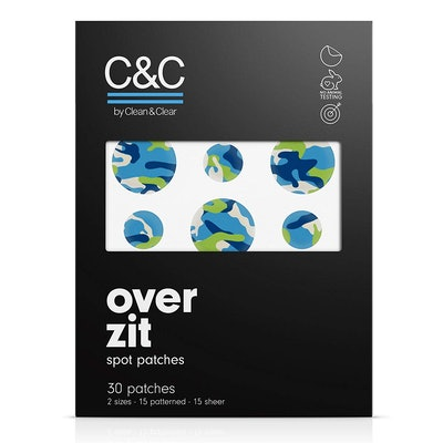 C&C By Clean and Clear Over Zit Spot Patches (30 Patches)