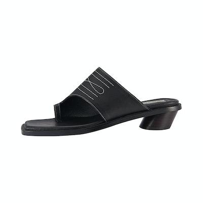 Western Sandal Flat / RK2-SH010 Black
