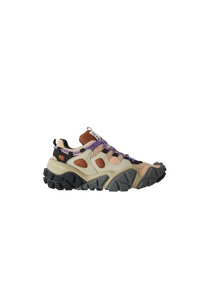 Technical sneakers beige/grey