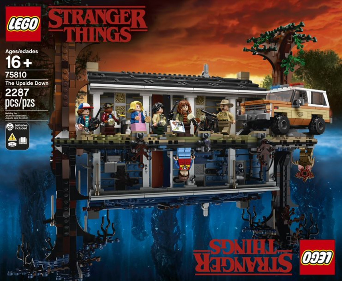 This 'Stranger Things' LEGO Set Is So Good, It's Better Than Eleven's Waffle Stash