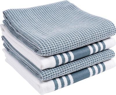 KAF Home Absorbent Dish Towels (4 Pack)