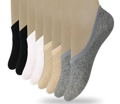 Eedor Women's Casual No-Show Socks (8-Pack)