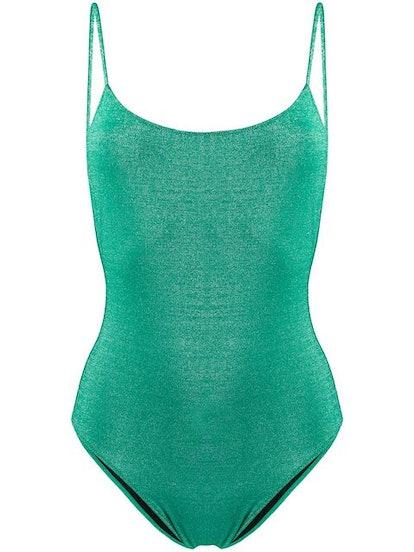 MC2 SAINT BARTH Cecille glitter swimsuit