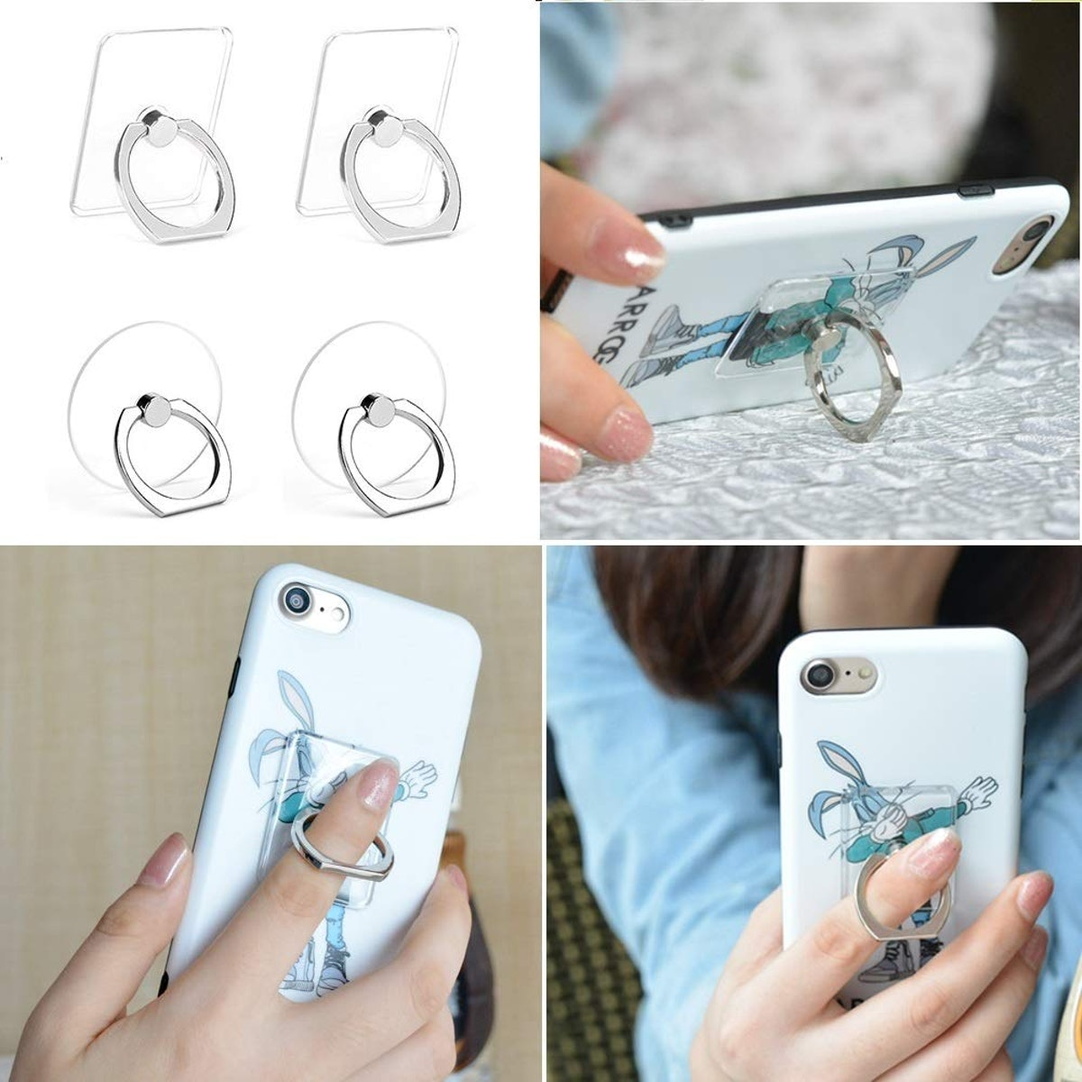 Earea Cell Phone Ring Holder & Stand