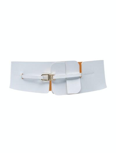 Cross Calfskin Belt