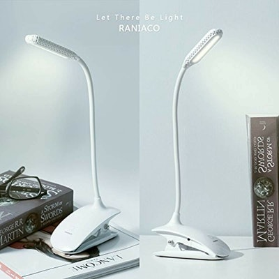 Raniaco Daylight Rechargeable Led Clip Reading Light