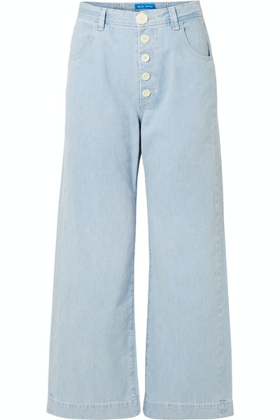 Paradise High-Rise Wide-Leg Jeans