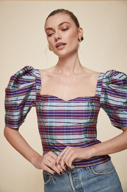 Fabiana Puff-Sleeve Top